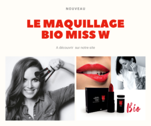 La gamme maquillage bio Miss W
